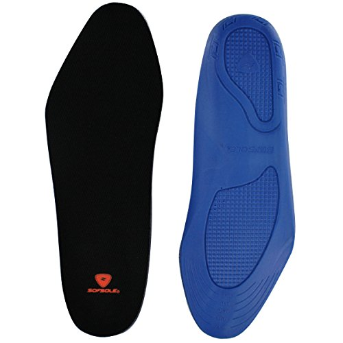 Sof Sole Men's Memory Foam Comfort Shoe Insoles, Men's Size 8-13 by Sof Sole