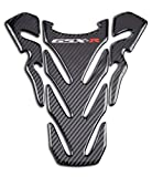D-power Real Carbon Look Motorcycle Sticker Vinyl Decal Emblem Protection Gas Tank Pad Tank Protector For GSXR 600 GSXR 750 GSXR 1000 K6 K7 K8 K9 L1 2006-2017