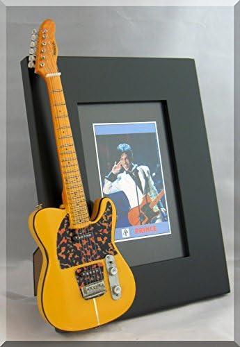 Prince Guitarra en miniatura Marco de fotos Hohner Telecaster ...