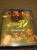 Street Fighter IV THE TIES THAT BIND BLU-RAY