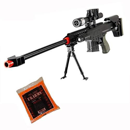 M82A1 Airsoft Sniper Rifle Barrett - Gun M107 Tactical Pistol Grip - 1000 BBS Free (Airsoft Sniper Rifle Barrett M82a1 Gun M107)