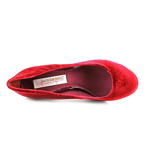 Fanci Womens American US5 American Rag Rag Pumps Red xHHt1Un