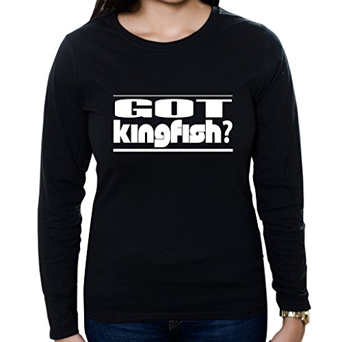 - Custom Brother - GOT Kingfish Women's Long Sleeve Shirt Black