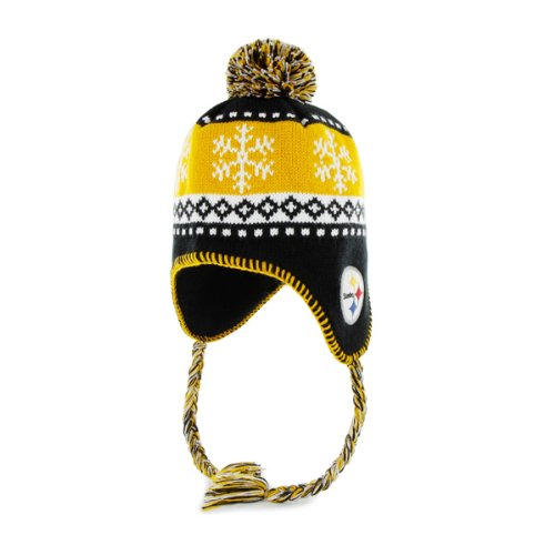 (NFL Pittsburgh Steelers Abomination Knit Cap, Black, One-Size)