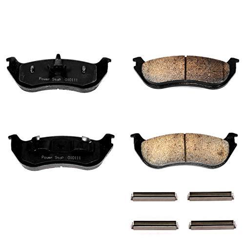 Power Stop 17-881, Z17 Evolution Ceramic Rear Brake Pads