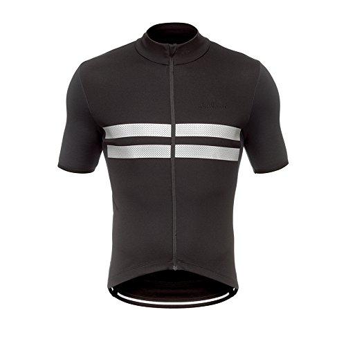 De Marchi Cortina Jersey – Men 's B06Y5DVP23 XL|ブラック ブラック XL