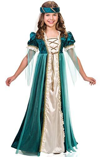 Girls Emerald Juliet Costume size Large 12-14 -