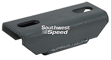 NEW SOUTHWEST SPEED CHEVY SOLID TRANSMISSION MOUNT, REPLACES MOROSO #  62600, FITS POWERGLIDE, TH-350, TH-400, BORG-WARNER, MUNCIE, SAGINAW,  CHRYSLER
