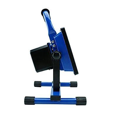SAILUN 10W Kaltwei/ß Blau LED Mit Akku Baustrahler Fluter Handlampen Flutlicht Arbeitsleuchte Tragbar wiederaufladbare Fluter IP65 10W Kaltwei/ß