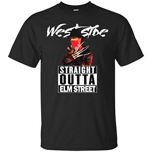 Bunbasas Westside Straight Outta ELM Street Horror Movie Halloween -