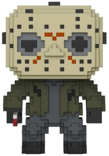 Funko 8 Bit Pop: Horror-Jason Voorhees Collectible Figure