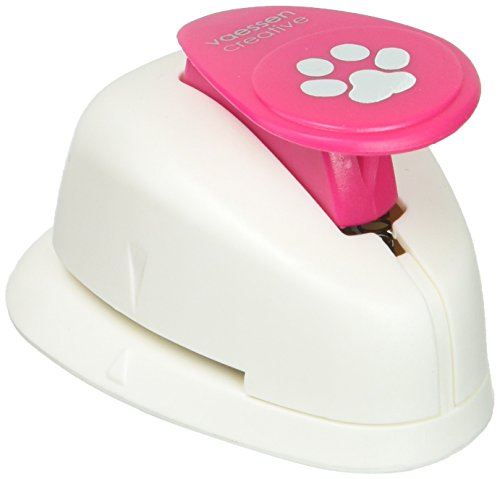 DARICE 21436-246 Picture Shape Punch-Dog Paw-5/8