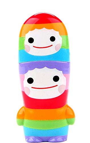 Buddy Chub Rainbow MIMOBOT Friends With You USB Flash Drive 8GB | Mimoco Executive High Speed Flash