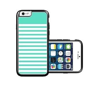 RCGrafix Brand Mint Stripes iPhone 6 Case - Fits NEW Apple iPhone 6 by icecream design