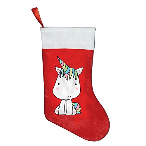 Costume Contest The Office Quotes (Christmas Or Birthday Socks Little Unicorn Red Felt Festival Party Ornaments)