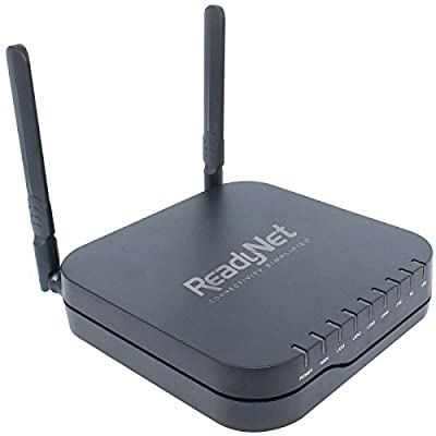 ReadyNet Wireless VoIP Wi-Fi Router, 802.11ac Dual Band, 2 FXS ports for VoIP, Gigabit Ethernet, TR-069 Remote Management (AC1200MS)