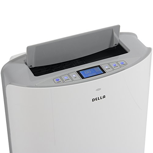Evaporative Portable Air Conditioner : Della btu evaporative portable air conditioner