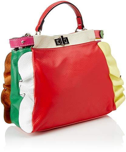 taupe Borse rosso Portés Chicca Main Multicolore Sacs Cbc34021tar 0wngU