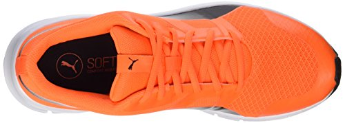 Orange Unisex black Shocking Flexracer Erwachsene Orange Sneakers Puma Aw6qpCR