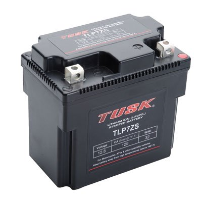 Tusk Lithium Battery TLP7ZS - Fits: Yamaha WR450F 2011-2015
