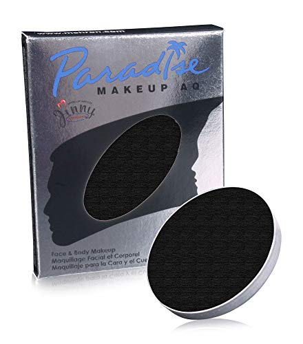 Mehron Makeup Paradise Makeup AQ Refill (.25 oz) (BLACK) for $<!--$5.89-->