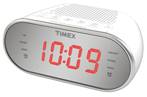 Timex Am/FM Dual Alarm Clock Radio with Digital Tuning 1.2