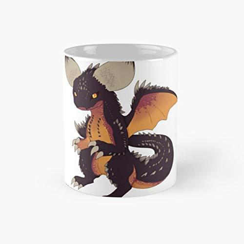 Chibi Nergigante Mug, dragon Cup, 11 Ounce Ceramic Mug, Perfect Novelty Gift Mug, Funny Gift Mugs, Funny Coffee Mug 11oz, Tea Cups -
