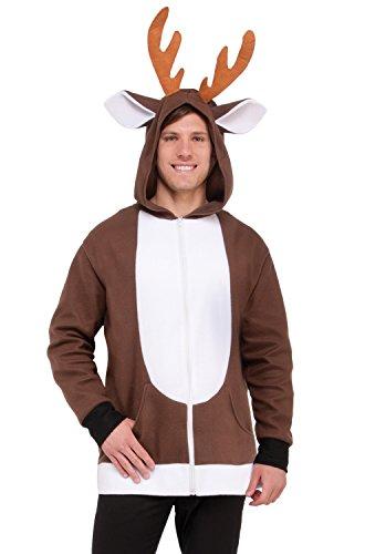 Costumes Reindeer (North Pole Reindeer Hoodie (1)