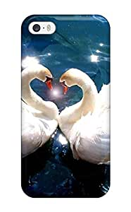 New Tpu Hard Case Premium Iphone 5/5s Skin Case Cover(animals Falling In Love)