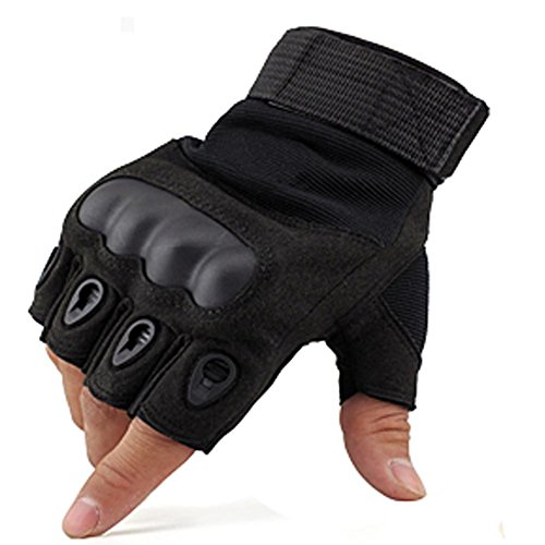 Outdoors cycling Half Gloves Tactical Fingerless Gloves