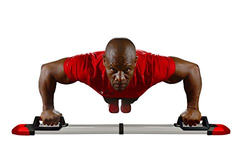 Iron Chest Master Push Up Machine The Perfect Chest Workout. Fully Assembled With Built In Resistance Bands. Includes Workout Programs & Nutrition Guide