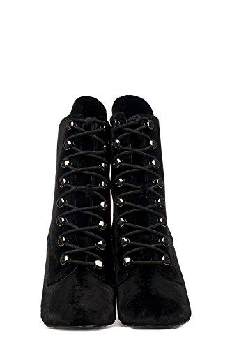 Kendall & Kylie Women's KKBRIDGET2 Black Polyester Ankle Boots 9emI1rJN51