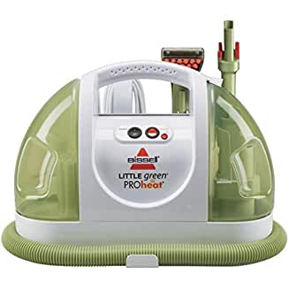 Bissell Little Green ProHeat Compact Carpet Cleaner (our choice for Best Dog Stain and Odor Remover)