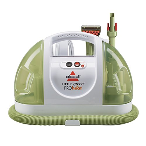 BISSELL Little Green ProHeat Portable Carpet and Upholstery Cleaner, 14259 (Machine Cleaner Steam Carpet)