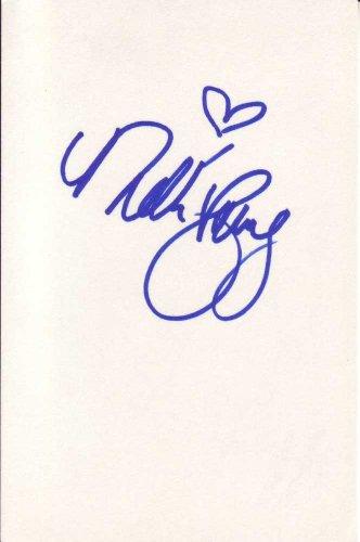 Nikki Schieler Ziering Autographed Hint Card