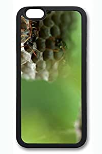 iPhone 6 Plus Case - Wasp Hives Soft Cell Phone Cover Case for 5.5 Inch iPhone 6 Plus