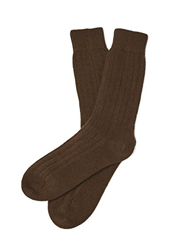 Pure Cashmere Socks (Espresso, Small/Medium) Espresso Wool Cashmere