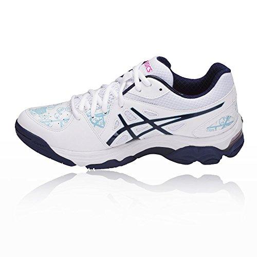 Asics Gel-netburner Academy 7 Womens Nettball Schuh - Ss18 Bianco