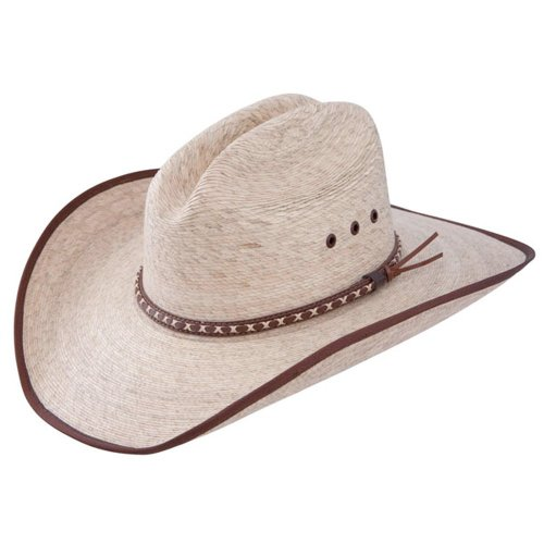 Resistol Jason Aldean Hicktown - Mexican Palm Straw Cowboy Hat (Medium)