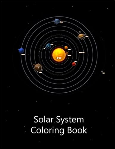 Amazon.com: Solar System Coloring Book (9781539719229): Lazaros ...