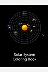 Solar System Coloring Book Paperback