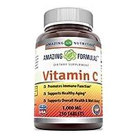 Amazing Formulas Vitamin C 1000 Mg,Tablets - (Non-GMO,Gluten Free, Vegan) - Promotes...