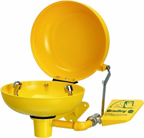 Bradley S45-1964 ABS Plastic Safety Retrofit Dust Cover with Bowl, 10-3/8 Diameter x 3-1/2 Height, Model: S45-1964, Tools & Outdoor Store by Bradley
