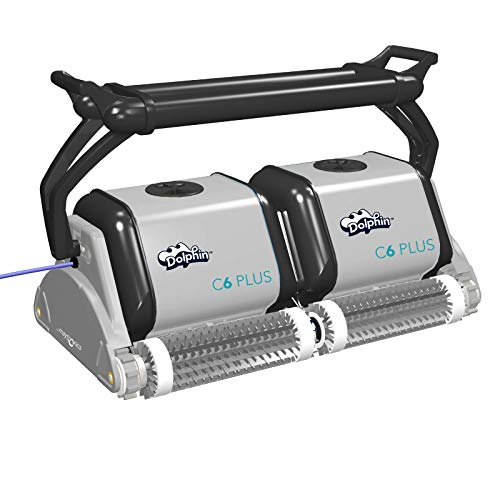 Maytronics Dolphin C6 Plus Commercial Pool Cleaner with Remote Control ()