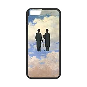 iphone6 4.7 inch Phone Cases Black Painted Clouds MN3394022