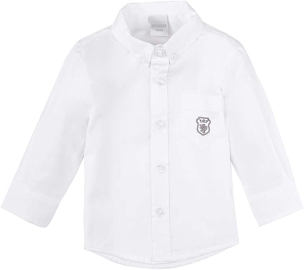 Celebration Baby Jungen Hemd//T-Shirt//Shirt//Langarmshirt wei/ß