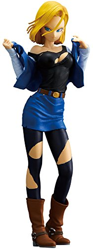Banpresto Dragon Ball Z Glitter & Glamours Android 18 A Action Figure