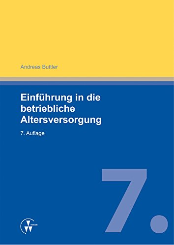 Betriebliche Altersversorgung (German Edition)