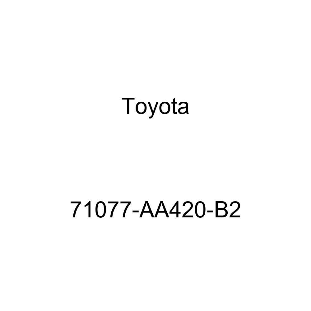 TOYOTA Genuine 71077-AA420-B2 Seat Back Cover