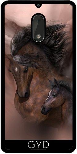 Funda de silicona para Nokia 6 - Madre E Hijo by Illu-Pic.-A.T.Art
